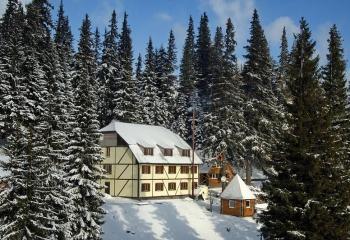 Приватна садиба Снігові вершини. Драгобрат